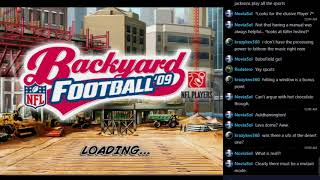 Let's Play Backyard Football '09