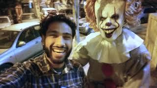 making of - horror commercial