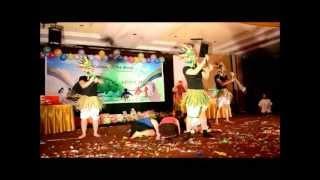 Rio Africa dance with Rio + Waka waka + On the Floor