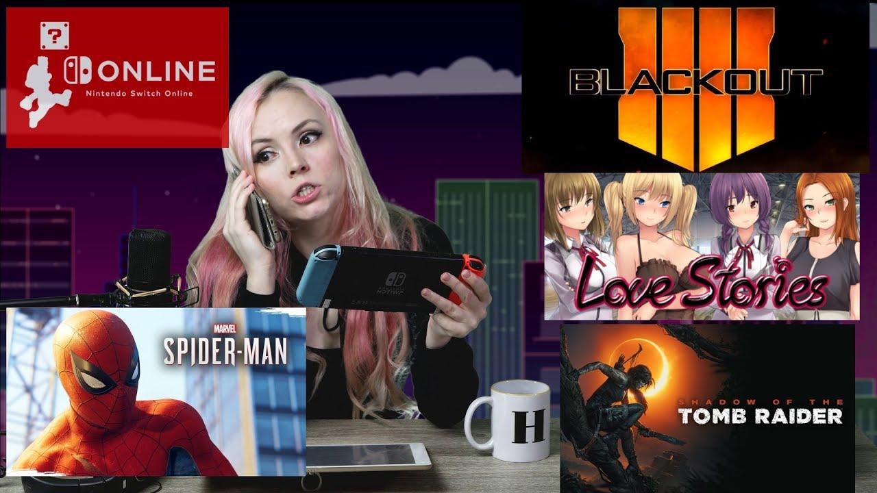 Gaming News: HENTAI comes to STEAM! SpiderMan HEARTBREAK! Nintendo DELETE SWITCH SAVES?