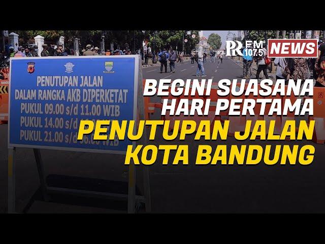 Ini Sejumlah Ruas Jalan di Kota Bandung yang Kembali Ditutup pada Pagi, Sore, dan Malam Hari