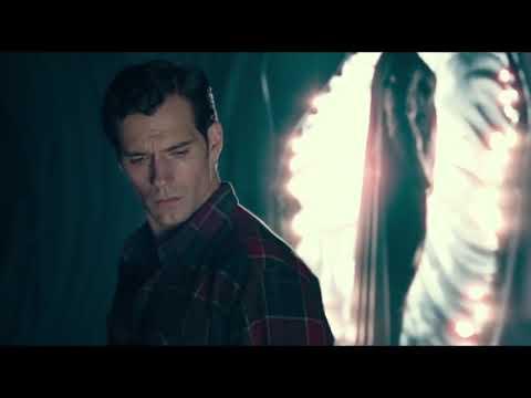 JUSTICE LEAGUE Black Suit Superman Deleted Scene HD Henry Cavill