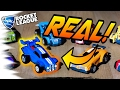 REAL-LIFE Rocket League CARS! - w/ New DLC WHEELS & TRAILS (Rocket League Update/News)