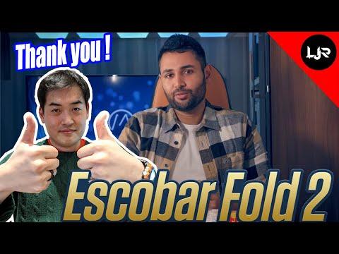 Escobar Fold 2 - Thank You Mrwhosetheboss!
