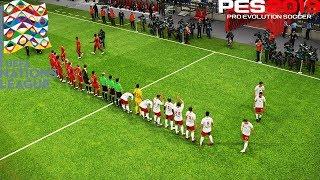 UEFA NATIONS LEAGUE 2018   SWITZERLAND VS BELGIUM   PES 2019 Gameplay PC