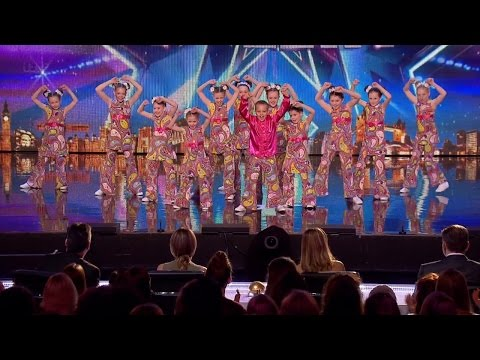 Britain's Got Talent 2015 S09E06 Groove Thing Gets Their Disco Dance On