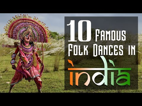 Most famous 10 folk dances in India | Folk dances of India UPSC, SSC, Bank Exams