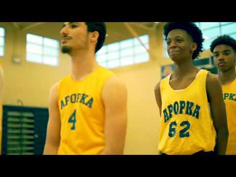 Apopka Middle School Basketball 2019 (County Champions)