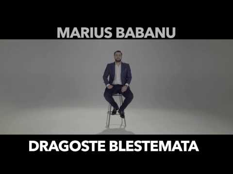 Marius Babanu - Dragoste Blestemata  ( Oficial Audio 2017 )