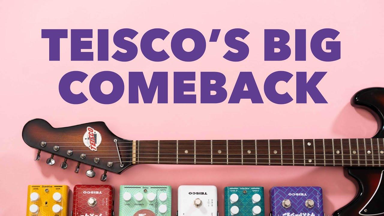 Teisco Reborn (A Legendary Guitar Company Makes Pedals)