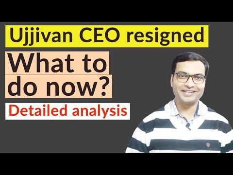 Ujjivan Small Finance Bank CEO Resignation