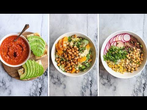 3 MUST TRY Vegan Dinner Recipes in Under 30 Minutes