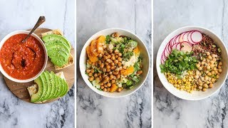 3 MUST TRY Vegan Dinner Recipes in Under 30 Minutes