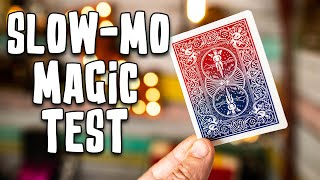 Sleight of Hand in Slow Motion 2! - Is The Hand Quicker than The Eye?!