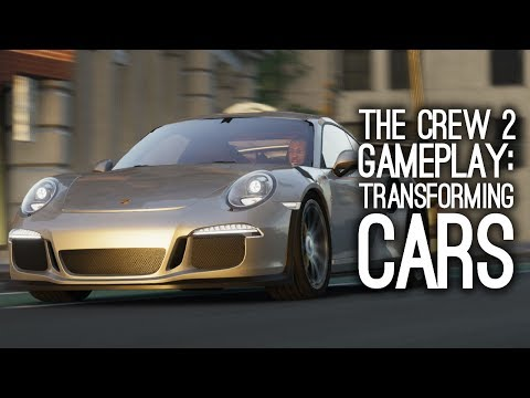 The Crew 2 Gameplay: TRANSFORMING CARS - Let's Play The Crew 2