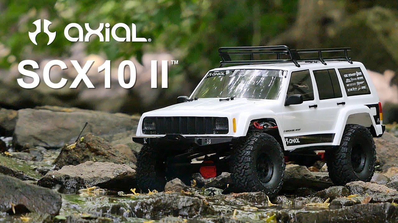 Spotlight Scx10 Ii Jeep 174 Cherokee Kit Youtube