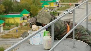 В районе Коротчаево продолжается капитальный ремонт многоквартирных домов