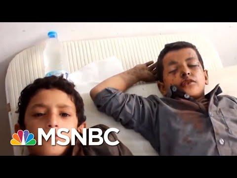 Dozens Of Children Killed In School Bus Bombing In Yemen | All In | MSNBC