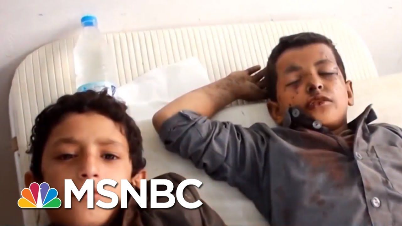 Dozens Of Children Killed In School Bus Bombing In Yemen | All In | MSNBC