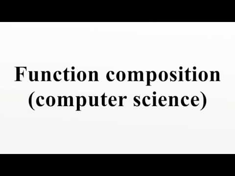 Function composition (computer science)