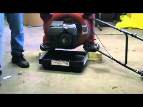 Cambiar aceite maquina de cortar pasto es facilisimo!! 20046da4a471