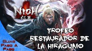 Video de Nioh | Trofeo: Restaurador de la Hiragumo (Misión Castillo del nido de arañas)
