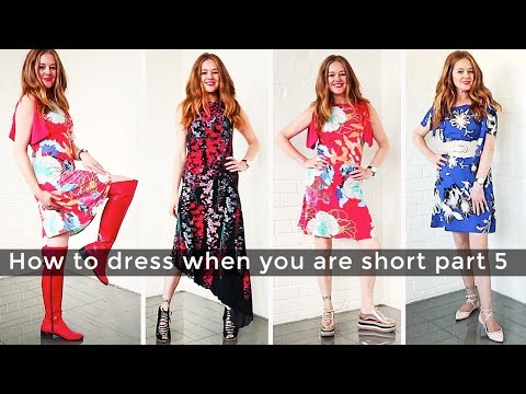 How to dress when you are short for women over 40 part 5 - shoes - over 40 style