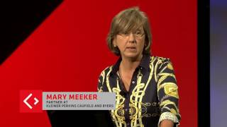 Many online ads are ineffective | Mary Meeker, Internet trends report | Code Conference 2016