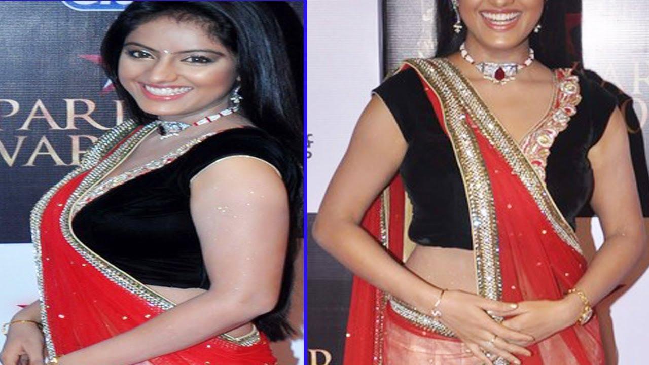 raving beauty deepika singh sexy black choli too hot - youtube