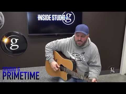 "Garth Brooks Debuts New Song ""The Road From Here To Gone"" on Inside Studio G"