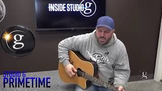 Garth Brooks Debuts New Song The Road From Here To Gone on Inside Studio G