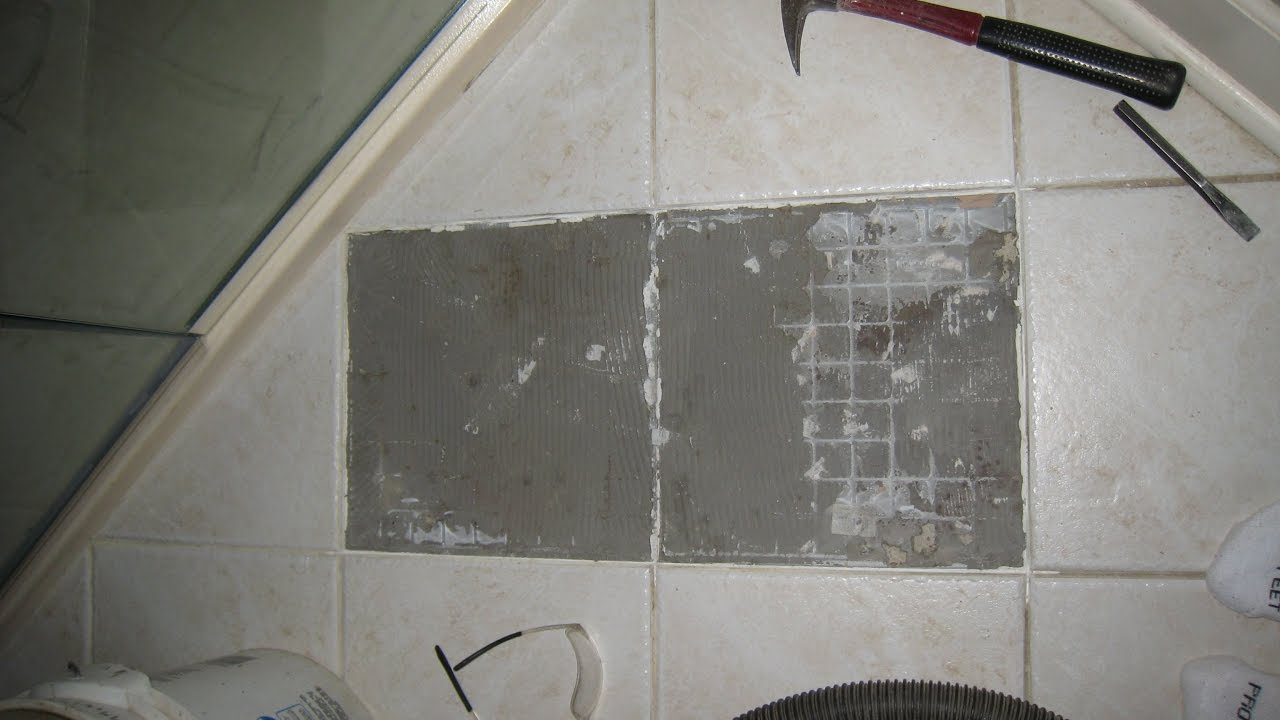 How to replace one or two ceramic floor tiles youtube how to replace one or two ceramic floor tiles dailygadgetfo Images