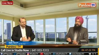 Gambar cover Mortgage live show with Rajiv Verma and Satnam Singh live on Pardesi Tv