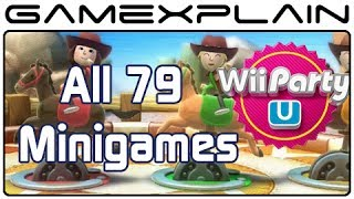 Wii Party U - Every Minigame (Gameplay Footage of All 79!)