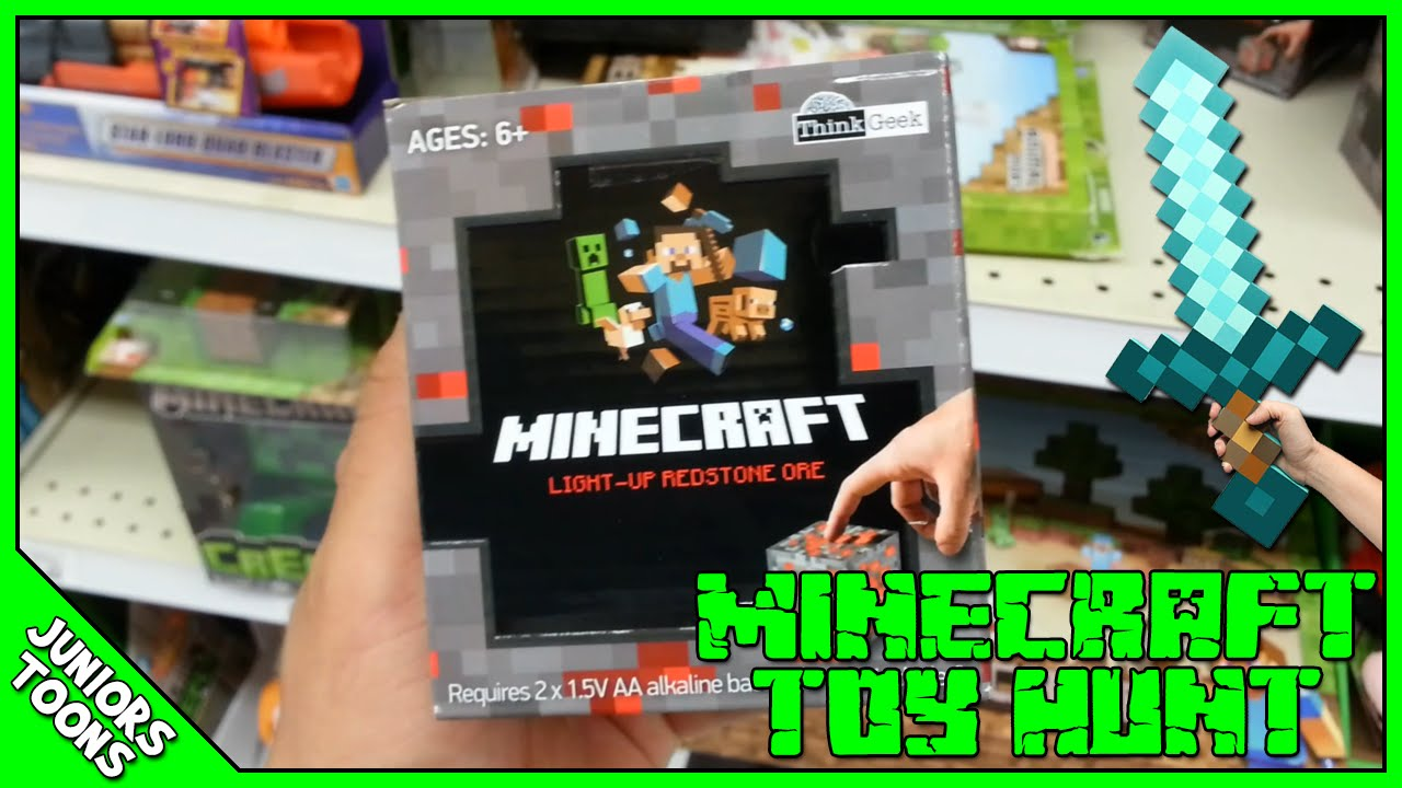 Toy R Us Toy Herobrine : Toy hunt toys r us minecraft haul juniors toons