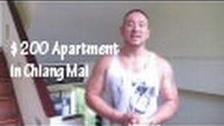 My New $200 a Month Apartment in Chiang Mai, Thailand