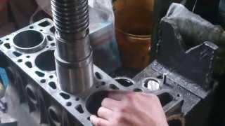 Гильзовка блока цилиндров ВАЗ-2103