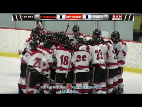 HAN Sports: FCIAC Boys Ice Hockey Semifinal #2 New Canaan vs. #6 Greenwich 3.1.17