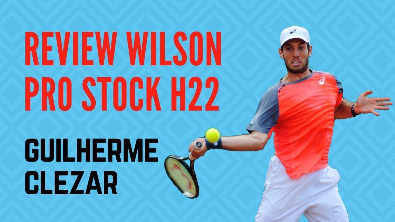 3e04ccdb9 Review Wilson Pro Stock H22 Guilherme Clezar - YouTube