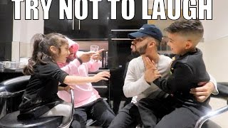 INSANE TRY NOT TO LAUGH CHALLENGE!!