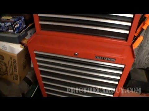 What's Inside EricTheCarGuy's 'Home' Tool Box? - EricTheCarGuy