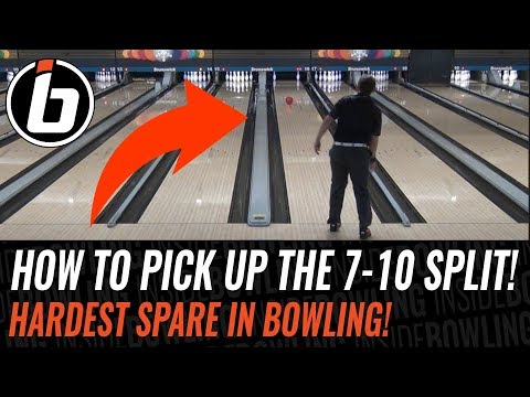 ❌How to Pick Up the 7 - 10 Split in Bowling 🎳