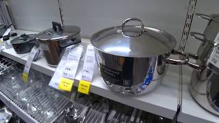 ✿ ИКЕА ОБЗОР /Товары для КУХНИ в ИКЕА?  PANTS / Look, What's for the pans in IKEA?