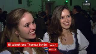 97. Jägerball in der Wiener Hofburg ORF Niederösterreich heute