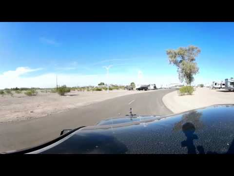 Video Tour of Gila Bend Air Force Auxilary Field FamCamp, AZ