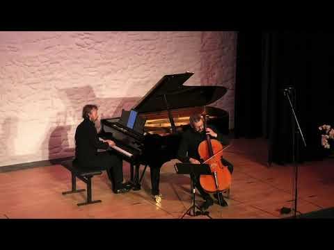 Leonid Gorokhov and Roland Krüger play Brahms Sonata in E minor, op. 38 - 2020 Live Concert