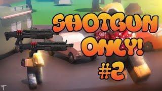 Shotgun Challenge #2! Solo Duo Shotgun Only Challenge!
