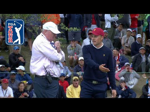 Reed and Spieth receive ruling in match with Day and Oosthuizen