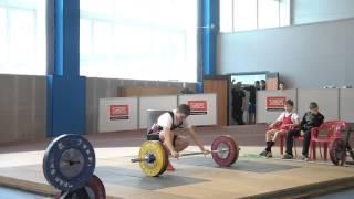 Тяжёлая атлетика Шутилов Иван,14 лет,вк 69 кг Толчок 105 кг