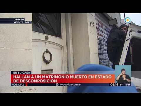 Vicente López: Hallan a matrimonio en estado cadavérico (3)   #TVPúblicaNoticias